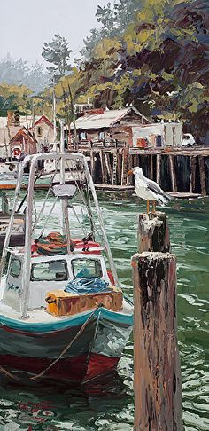 Harbor Musings by Erin Dertner ~ x