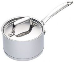 View Large Image for Saucepan Stainless Steel - Master Class - 9cm (3.5