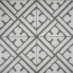 10 Easy Crafts at Home, Diy Ideas for Teenagers (DIY Wall Decor, Pillows, etc.) : Deco Classic B in Graphite Glazed Porcelain Tile Decor, Home Decor Kitchen, Porcelain, Painted Floor, Tiles Texture, Tiles, Deco, Porcelain Tile, Home Decor
