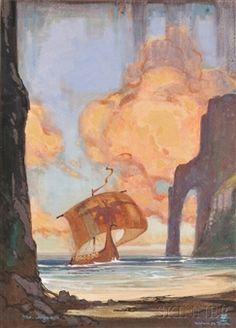 The Argus By William Mitcheson Timlin ,1946
