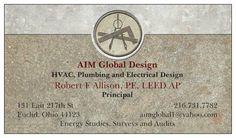 Business Card preview Hvac Design, Online Printing Services, Global Design, Signage, Business Cards, Prints, Lipsense Business Cards, Billboard, Signs