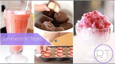 Hope you enjoy these recipes. I think you will! More videos coming soon. =) Recipes - Frozen Coconut Yogurt Bites 2 Containers Of Coconut Yogur. Summer Kids Snacks, Summer Treats, Kid Snacks, Cookie Desserts, Dessert Recipes, Frozen Yogurt Bites, Sweet Factory, Coconut Yogurt, Strawberry Lemonade