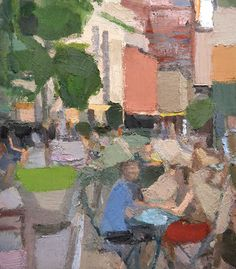 John Dubrow,<em> TriBeCa 2</em>,2014–15. Oil on linen, 50 x 44 in. Courtesy of the Artist and Lori Bookstein Fine Art.