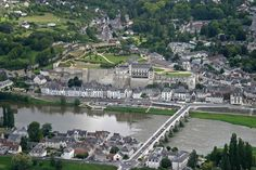 ✈️ Photo aérienne d'Amboise - Indre-et-Loire (37)