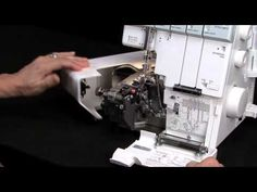 Serger video - Setting Up  Your Serger for a Rolled Hem