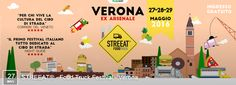 2016 Streeat Food Truck Festival, May 27, 4 p.m.-1 a.m., May 28-29, 11 a.m.-1 a.m., in Verona, Ex Arsenale, Via Prato Santo; street food fair; entertainment for everyone and games for children; live music; free entrance.