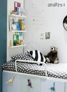 cool kids bedroom (see the dinosaurs) #decor #kids