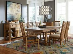 Broyhill Affinity Dining Room Set Broyhill Furniture  New Vintage Black 7 Piece Gathering Counter