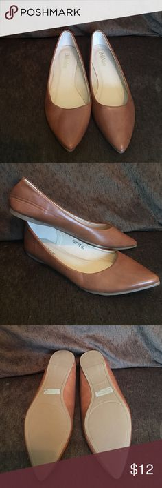 Tan flats New, never worn tan flats. Bought the wrong size online! Bella Marie Shoes Flats & Loafers
