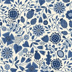 Porcelain Dreams by Helen Dardik (not actually a fabric. I wish it were!)