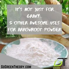 Yep, we all know arrowroot powder is a great, gluten free thickener, perfect for gravy but did you know there are many other uses that you can benefit from? Click the link to learn five new uses you can start utilizing arrowroot poder for today! Arrowroot Flour, Arrowroot Powder, Dna Synthesis, Salt Scrubs, Body Fluid, Gluten Intolerance, Baby Powder, Natural Deodorant, Child Care