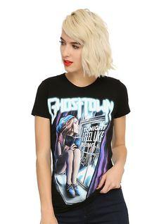 Ghost Town Loner Girls T-Shirt,