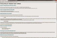 Selection Tools ads est un programme publicitaire terrible qui est conçu par certains cybercriminels pour détruire la sécurité des fenêtres non protégées système informatique basé.