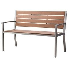 Threshold™ Bryant Faux Wood Patio Bench : Target