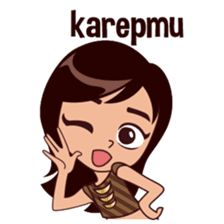Hello, my name is Suzy, I am from Java, please be kind, nice to meet you =) Kawaii Stickers, Love Stickers, Funny Stickers, Cartoon Jokes, Girl Cartoon, Emoji Images, Sunflower Wallpaper, Cute Love Cartoons, Love Drawings