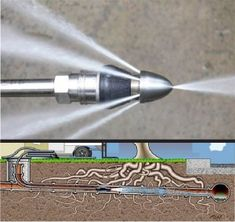 Hydro-jetting, also known as Hydro Scrubbing, is a process that deep cleans your sewer pipes with high-pressured streams of water Plumbing Drains, Drain Pipes, Plumbing Tools, Bathroom Plumbing, Cool Tools, Diy Tools, Mechanical Engineering Design, Industrial Engineering, Woodworking Hand Planes