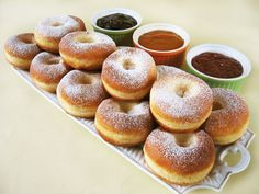 Moha Konyha: Szalagos fánk Hungarian Cake, Hungarian Recipes, Hungarian Food, Beignets, Bread Recipes, Cake Recipes, Different Kinds Of Cakes, Czech Recipes, 1 Gif