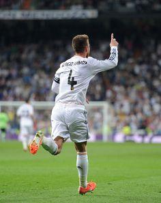Sergio Ramos - Real Madrid CF v Valencia CF - La Liga