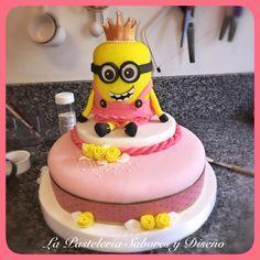 #minions #cake #torta #girl #nenas