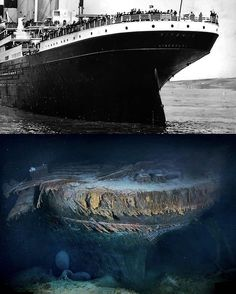 Rms Titanic, Titanic Boat, Titanic Wreck, Titanic Movie, Abandoned Ships, Abandoned Places, Titanic Underwater, Ship Paintings, Shipwreck