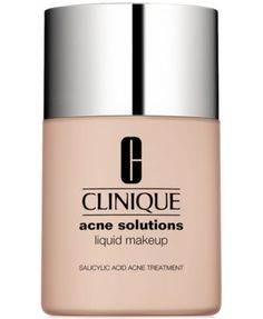 Clinique Acne Solutions Liquid Makeup Foundation, 1 oz Fresh Ginger. Idk stuff really broke me out
