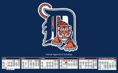 Detroit Tigers Schedule Wallpaper