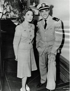 Richard Ney and wife Greer Garson.