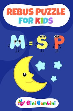 Bini Bambini's brain teaser for kids 😉🧠💡👨🎓 #binibambini #best #education #learning #teaching #alphabet #letters #reading #phonics #numbers #counting #math #games #apps #happy #kids #fun #children #toddler #preschool #kindergarten