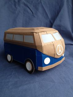 Gift Box German Bus Volkswagen Bus- Someone make this for me please