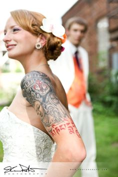 bride's tattoo sleeve by Shannon Porter, via 500px 8531 Santa Monica Blvd West Hollywood, CA 90069 - Call or stop by anytime. UPDATE: Now ANYONE can call our Drug and Drama Helpline Free at 310-855-9168.