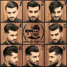 Most popular and trendy hairstyles for men - Wittyduck Cool Hairstyles For Men, Hairstyles Haircuts, Haircuts For Men, Medium Hair Styles, Short Hair Styles, Gents Hair Style, Barber Haircuts, Men Hair Color, Beard Tattoo