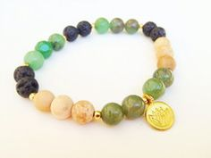 One Breath Padma essential oil bracelet by LavHa