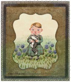 Fairy Dust, Victorian Era, Children's Books, Kitten, Contemporary, Illustration, Painting, Art, Children Books