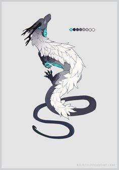 Winter dragon - Auction (Closed) by Kelirth on DeviantArt