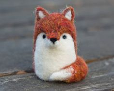 Popular items for wool fox on Etsy