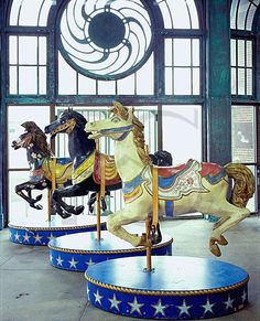 Casino Carousel Asbury Park NJ, rode them many times and got the ring! You will know that is only if you are from Jersey!