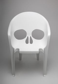 skull chair Nouvelle Vague