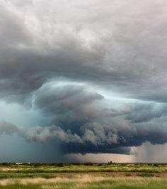 Un orage imminent immortalisé en août 2013