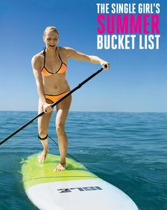 Your 2015 Ultimate Summer Bucket List The 10 things to see, try and do while the warmer weather's around.