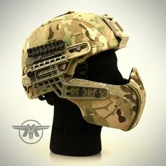 Awesome! Predator Facial Armor System Fast New G4 for Mich ACH LWH PASGT Helmet Mask   eBay