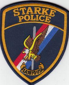 STARKE FLORIDA FL POLICE SHOULDER PATCH