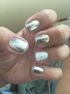 Silver chrome sigh design
