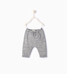 Trousers with pouch pocket-Leggings & Trousers-Mini | 0-12 months-KIDS | ZARA United States