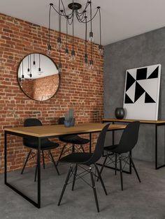 Home Room Design, Dining Room Design, Dining Area, Kitchen Design, House Design, Apartment Design, Apartment Interior, Sweet Home, Dinner Room