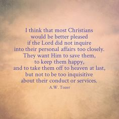 """Sad but true.  Fans of what they perceive to be  God's """"good"""" blessings instead of a committed follower of Christ."""