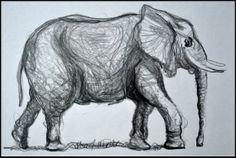 Cartoon Drawings, Pencil Drawings, Elephant Sketch, Cartoon Lion, Water Fairy, Animal Sketches, Art Journal Inspiration, Animal Design, Animal Paintings