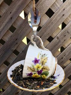 Ways To Make Coffee, Garden Bird Feeders, Teapot Design, Royal Stafford, Nutritious Snacks, How To Attract Birds, Perfect Gift For Her, Great Coffee, Garden Ornaments