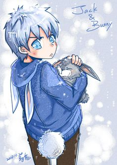 Jack Frost & the Easter Bunny - Rise Of The Guardians