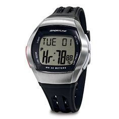 Save $ 10 order now Sportline DUO 1010 Men's Heart Rate Monitor Watch w/ C