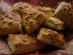 Slané pečivo z kyslej kapusty - Recept 20 Min, Dessert Recipes, Desserts, Food And Drink, Ale, Pizza, Potatoes, Bread, Cheese